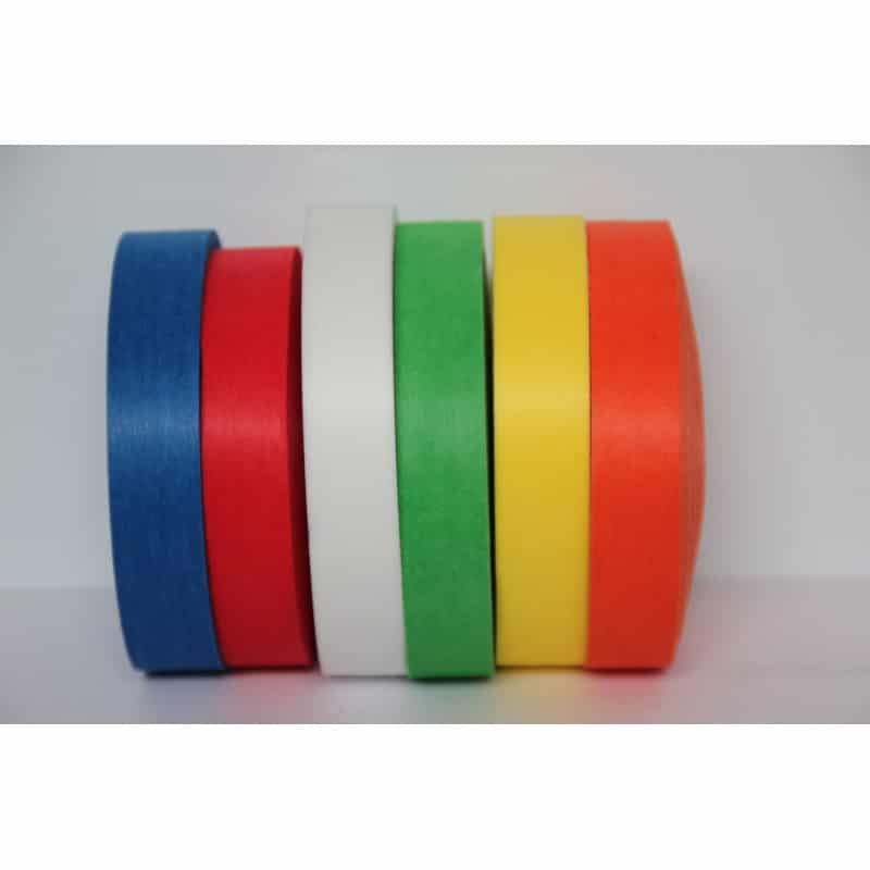 Ruban de signalisation biodégradable - 6 coloris - 20mm*80m - Rubalise