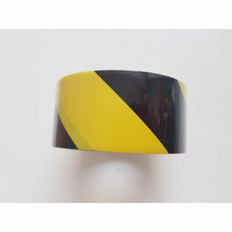 Ruban adhésif 50mm*33m jaune et noir