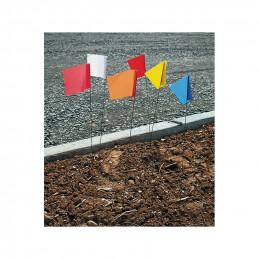 Piquet drapeau 73cm - lot...