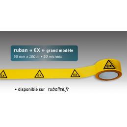 Rubalise plastique EX 50mm*100m