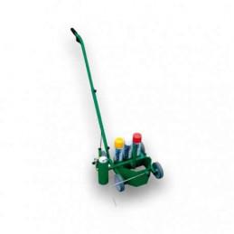 Chariot traçage de lignes avec porte aerosols